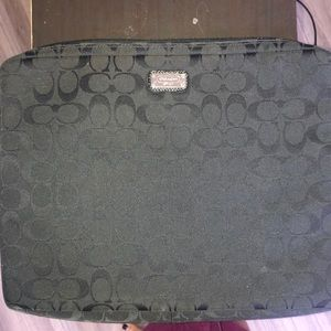 "Original Coach 13"" laptop case"